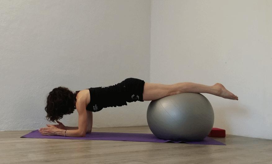 Démonstration Pilates par Magali