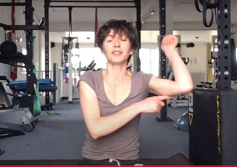 Vidéo :Exercices ciblés triceps