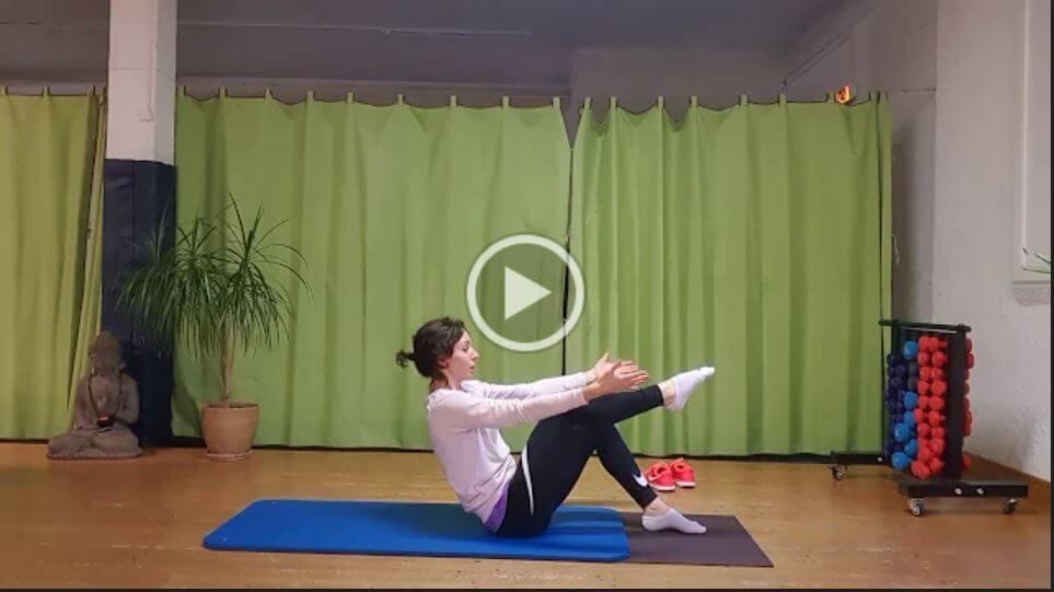 Vidéo : Séance Pilates Stretching par Magali